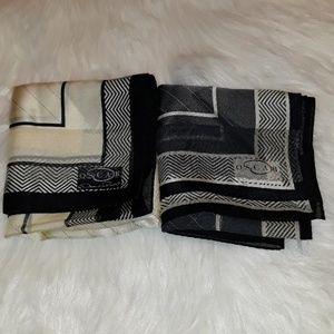 Oscar De La Renta scarf bundle